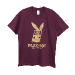 GAMING WEAR PLAYBOY 30TH BURGUNDY/GOLD PT TEE<img class='new_mark_img2' src='//img.shop-pro.jp/img/new/icons5.gif' style='border:none;display:inline;margin:0px;padding:0px;width:auto;' />