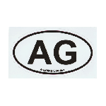 ANYTHING GOODIES <br>″ AG OVAL STICKER ″ <img class='new_mark_img2' src='//img.shop-pro.jp/img/new/icons6.gif' style='border:none;display:inline;margin:0px;padding:0px;width:auto;' />