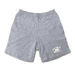 ANYTHING GOODIES<br>″ SWEAT SHORT PANTS ″ <br>GRAY / WHITE<img class='new_mark_img2' src='//img.shop-pro.jp/img/new/icons6.gif' style='border:none;display:inline;margin:0px;padding:0px;width:auto;' />