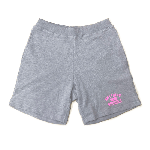 ANYTHING GOODIES<br>″ SWEAT SHORT PANTS ″ <br>GRAY / PINK<img class='new_mark_img2' src='https://img.shop-pro.jp/img/new/icons6.gif' style='border:none;display:inline;margin:0px;padding:0px;width:auto;' />