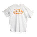 ANYTHING GOODIES<br> ″ Tropic Pocket TEE ″ <br> (BACK PRINT)<BR>WHITE/ORANGE<img class='new_mark_img2' src='https://img.shop-pro.jp/img/new/icons6.gif' style='border:none;display:inline;margin:0px;padding:0px;width:auto;' />