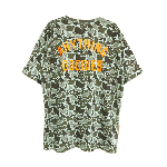 ANYTHING GOODIES<br> ″ HYBRID TEE″ <br>(BACK PRINT)<BR>DUCK HUNTER / ORANGE<img class='new_mark_img2' src='//img.shop-pro.jp/img/new/icons6.gif' style='border:none;display:inline;margin:0px;padding:0px;width:auto;' />