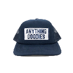 ANYTHING GOODIES<br>″ ANYTHING GOODIES MESH CAP  ″<BR>(キッズ) / NAVY