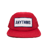 ANYTHING GOODIES<br>″ ANYTHING MESH CAP  ″<BR>(キッズ) / RED