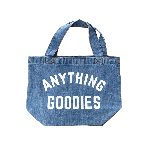 ANYTHING GOODIES <br>″MINI DENIM BAG ″ <img class='new_mark_img2' src='https://img.shop-pro.jp/img/new/icons6.gif' style='border:none;display:inline;margin:0px;padding:0px;width:auto;' />