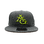 ANYTHING GOODIES <br>″ 6PANEL CAP ″ <br>(GRAY × LIME GREEN) <img class='new_mark_img2' src='//img.shop-pro.jp/img/new/icons6.gif' style='border:none;display:inline;margin:0px;padding:0px;width:auto;' />