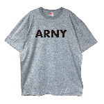ANYTHING GOODIES <br>″ ARNY TEE ″ <br>(GRAY × BLACK) <img class='new_mark_img2' src='//img.shop-pro.jp/img/new/icons6.gif' style='border:none;display:inline;margin:0px;padding:0px;width:auto;' />
