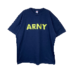 ANYTHING GOODIES <br>″ ARNY TEE ″ <br>(NAVY × YELLOW) <img class='new_mark_img2' src='//img.shop-pro.jp/img/new/icons6.gif' style='border:none;display:inline;margin:0px;padding:0px;width:auto;' />