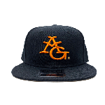 ANYTHING GOODIES <br>″ 6PANEL CAP ″ <br>(BLACK × ORANGE) <img class='new_mark_img2' src='//img.shop-pro.jp/img/new/icons6.gif' style='border:none;display:inline;margin:0px;padding:0px;width:auto;' />