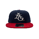 ANYTHING GOODIES <br>″ 6PANEL CAP ″ <br>(NAVY × RED × WHITE) <img class='new_mark_img2' src='https://img.shop-pro.jp/img/new/icons6.gif' style='border:none;display:inline;margin:0px;padding:0px;width:auto;' />