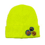 ANYTHING GOODIES <br>″ OTTO BEANIE ″ <br>(SAFETY YELLOW) <img class='new_mark_img2' src='https://img.shop-pro.jp/img/new/icons6.gif' style='border:none;display:inline;margin:0px;padding:0px;width:auto;' />
