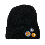 ANYTHING GOODIES <br>″ OTTO BEANIE ″ <br>(BLACK) <img class='new_mark_img2' src='//img.shop-pro.jp/img/new/icons6.gif' style='border:none;display:inline;margin:0px;padding:0px;width:auto;' />