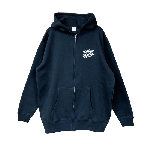 ANYTHING GOODIES <br>″ K.K SCRIPT HOODIE ZIP UP ″ <br>(BLACK×WHITE)<img class='new_mark_img2' src='//img.shop-pro.jp/img/new/icons6.gif' style='border:none;display:inline;margin:0px;padding:0px;width:auto;' />