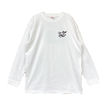 ANYTHING GOODIES <br>″ K.K SCRIPT LONG SLEEVE TEE BASIC SERIES ″ <br>(WHITE×BLACK)<img class='new_mark_img2' src='//img.shop-pro.jp/img/new/icons6.gif' style='border:none;display:inline;margin:0px;padding:0px;width:auto;' />