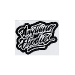ANYTHING GOODIES <br>″ K.K SCRIPT STICKER ″