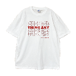 ANYTHING GOODIES <br>″ THING ANY TEE ″ <br>(WHITE × RED) <img class='new_mark_img2' src='//img.shop-pro.jp/img/new/icons6.gif' style='border:none;display:inline;margin:0px;padding:0px;width:auto;' />