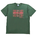 ANYTHING GOODIES <br>″ THING ANY TEE ″ <br>(ARMY GREEN × FLO ORANGE) <img class='new_mark_img2' src='//img.shop-pro.jp/img/new/icons6.gif' style='border:none;display:inline;margin:0px;padding:0px;width:auto;' />