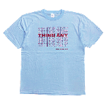 ANYTHING GOODIES <br>″ THING ANY TEE ″ <br>(LIGHT BLUE × RED)