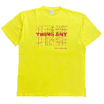 ANYTHING GOODIES <br>″ THING ANY TEE ″ <br>(YELLOW × RED) <img class='new_mark_img2' src='//img.shop-pro.jp/img/new/icons6.gif' style='border:none;display:inline;margin:0px;padding:0px;width:auto;' />