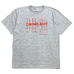 ANYTHING GOODIES <br>″ THING ANY TEE ″ <br>(GRAY × RED)