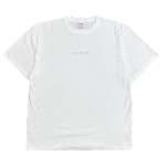 ANYTHING GOODIES <br>″ THE ANY & GO TEE″ <br>(WHITE × TIFFANY BLUE PRINT) <img class='new_mark_img2' src='//img.shop-pro.jp/img/new/icons6.gif' style='border:none;display:inline;margin:0px;padding:0px;width:auto;' />