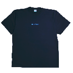 ANYTHING GOODIES <br>″ THE ANY & GO TEE″ <br>(BLACK × TIFFANY BLUE PRINT) <img class='new_mark_img2' src='//img.shop-pro.jp/img/new/icons6.gif' style='border:none;display:inline;margin:0px;padding:0px;width:auto;' />