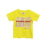 ANYTHING GOODIES <br>″ THING ANY TEE KIDS ″ <br>(YELLOW × RED) <img class='new_mark_img2' src='//img.shop-pro.jp/img/new/icons6.gif' style='border:none;display:inline;margin:0px;padding:0px;width:auto;' />