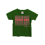 ANYTHING GOODIES <br>″ THING ANY TEE KIDS ″ <br>(ARMY GREEN × FLO ORANGE)