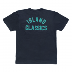 ANYTHING GOODIES × LIFE<br>″ ISLAND CLASSICS TEE ″ <BR>(BLACK ×TIFFANY BLUE)<img class='new_mark_img2' src='https://img.shop-pro.jp/img/new/icons6.gif' style='border:none;display:inline;margin:0px;padding:0px;width:auto;' />
