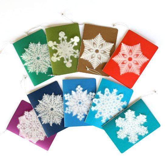 SNOWFLAKE グリーティングカード