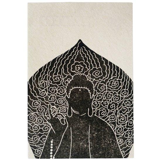 岐阜大仏 ぎふまちのポストカード