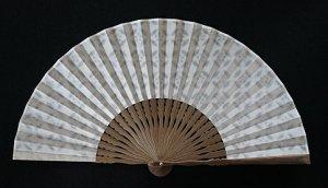 透かし和紙の扇子 梅鉢