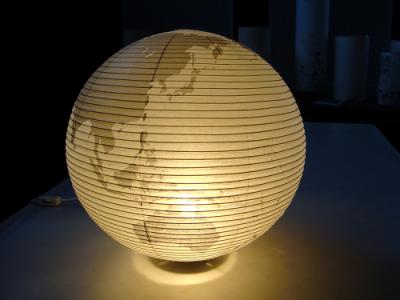 地球儀提灯 Globe