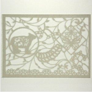 SYMPHONY ornament paper クマ #14