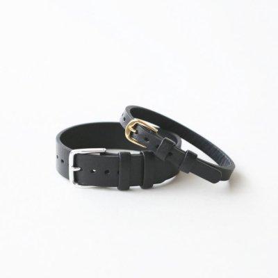 革ベルト No.43 ブラック(撥水革)
