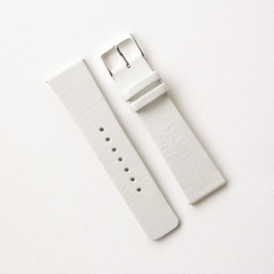 スクエアタイプ専用革ベルト No.42オフホワイト(撥水革)