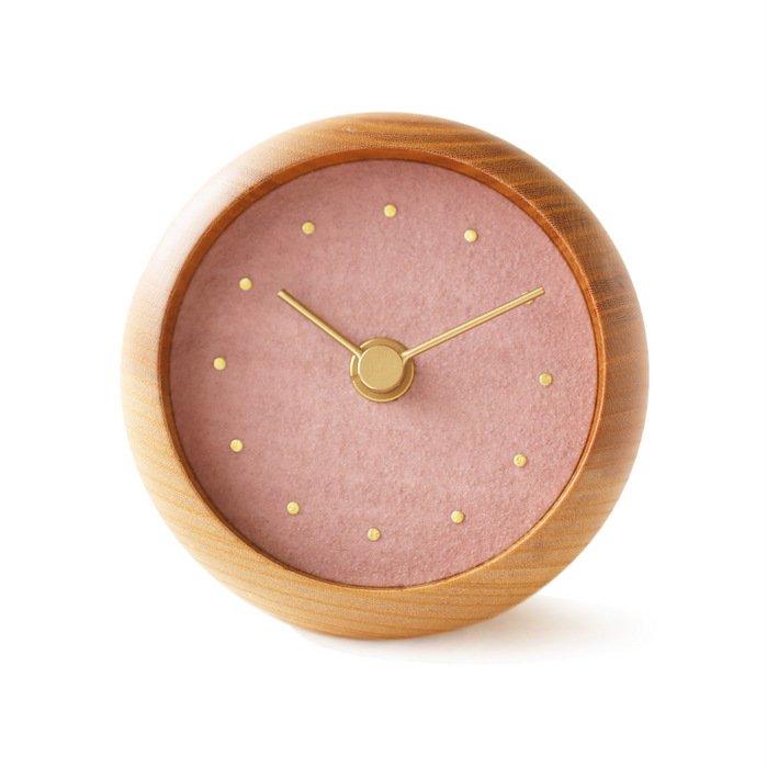 はなもっこ 置時計 桜鼠(さくらねずみ)