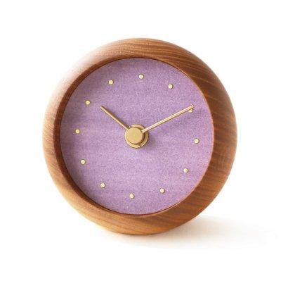 はなもっこ 置時計 藤紫(予約注文)