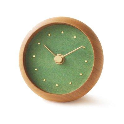 はなもっこ 置時計 緑瑪瑙(予約注文)