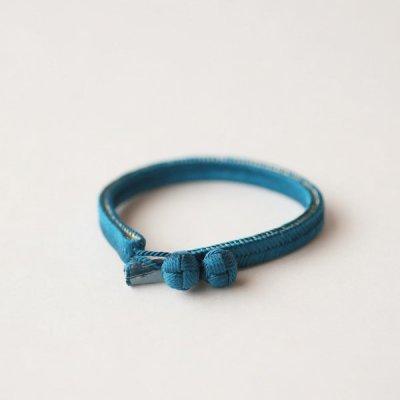 くみひもベルト (青) 7mm幅