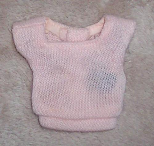 バービー PAK スクエアネックセーター--EX/NM