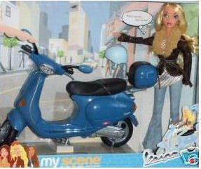 My Scene Barbie Vespa My City My Style My Scene - バービー人形の