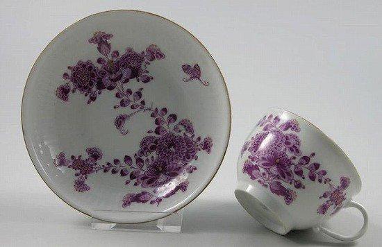古インドの華 赤紫 C&S