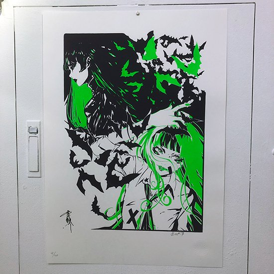 L.B.B.ポスター   SRBGENk × 雪駄