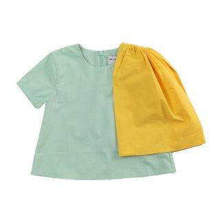 【Last one! 4Y】ADELIA-Blouse  Pistachio-Yellow