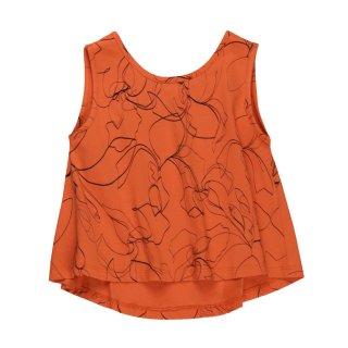 【Last one! 2Y】Top Julieta Orange Sketches