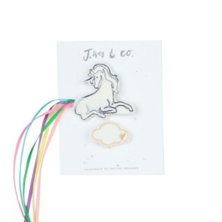 Hair Clips - Unicorn