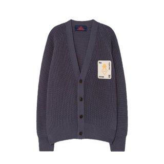 【Last one! 3Y】Navy Blue Racoon Cardigan