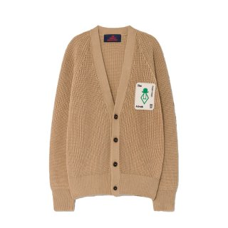 【Last one! 3Y】Deep Brown Racoon Cardigan