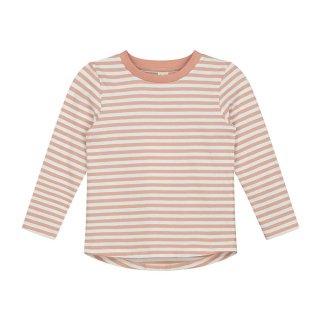 L/S Stripe Tee Rustic Clay 2-8Y